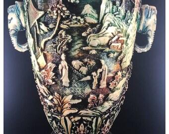 Heavy Japanese Vase