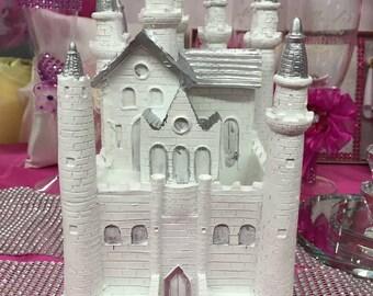 4 12 fairytale castle cake topper centerpiece keepsake decoration