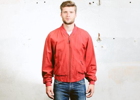 Men Silk Jacket . Black Oversized Bomber Jacket Vintage Jacket Button Down 80s Flight Jacket 90s Grunge Coat Outerwear . size Medium ZdhHR