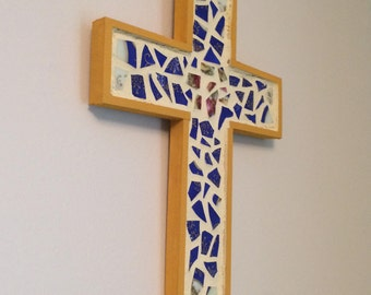 Wall Cross Mosaic