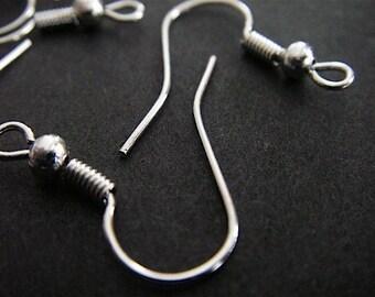 100 - Silver - Earring Hooks (SEH)