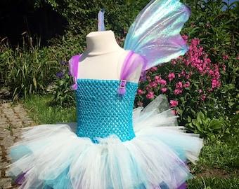 Rainbow unicorn fairy wings
