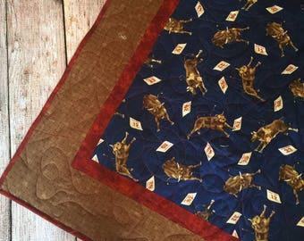 Bucking Bull Quilt