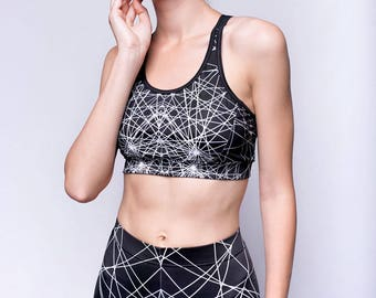 Black active wear, sports bra, black bra top, workout bra, bra top, workout sports bra, yoga bra, gym sports bra, gym bra, black yoga top