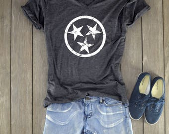 Tennessee Shirt - Stars Shirt - Tennessee Stars - Tennessee
