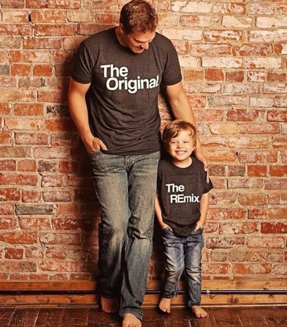 The original and the remix shirts matching t shirts parent malvernweather Gallery