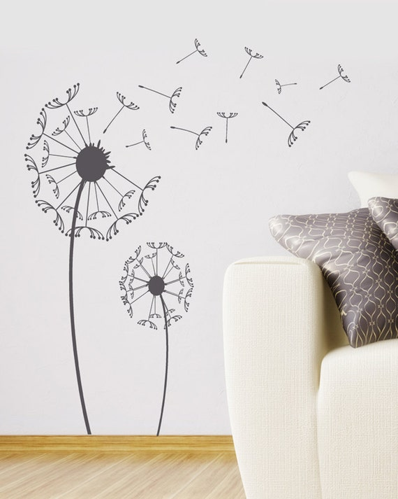 Nice Dandelion Wall Decal Modern Wall Art Dandelion Sticker