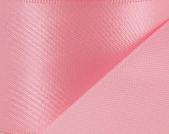 "1.5"" Double Face Satin Ribbon--PINK---Your Choice of Sizes--*On Sale Now*"