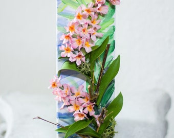 Orchids- Air Dry Clay Flowers