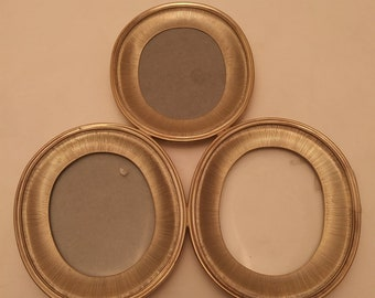 Buccellati Sterling Silver Triple-Oval Photo Frame