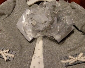 Custom Made to Order Over-The-Top Hair Bow Hairbow - Can be made to match any outfit or color choices