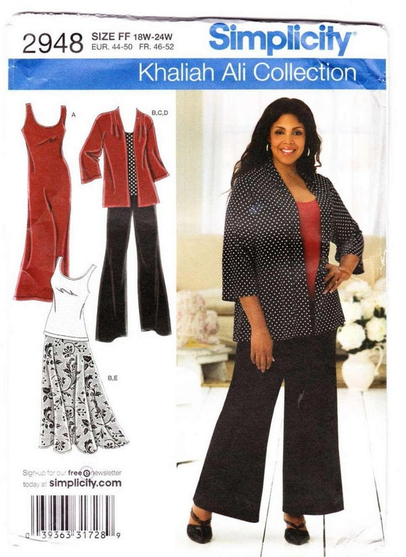 Plus Size Sewing Patterns Summer Dress Pattern For Women Khaliah Ali