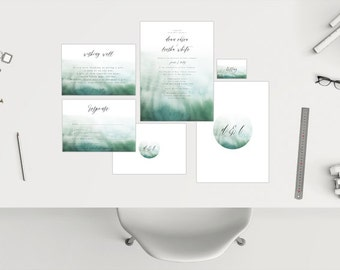 Wedding Package // Watercolour 06