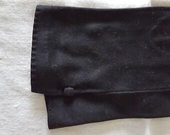 Vintage Black Ladies Dress Gloves