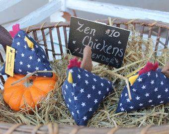 Zen Chicken- Happy Chickens - Chicken Gift