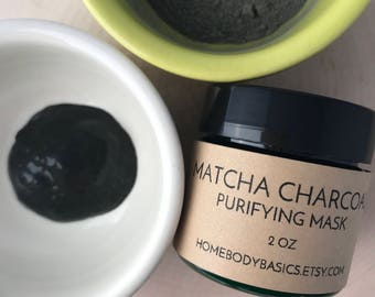 Matcha Charcoal Purifying Mask