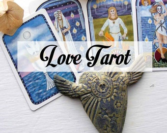 24 hour mini tarot, one question on love, same day love tarot reading with psychic impressions combined.
