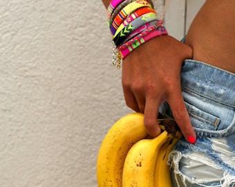 Neon Summer Bracelet.