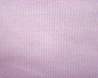 Vintage Pink Babycord Fabric by the yard - 36 inches long  x  44 inches wide