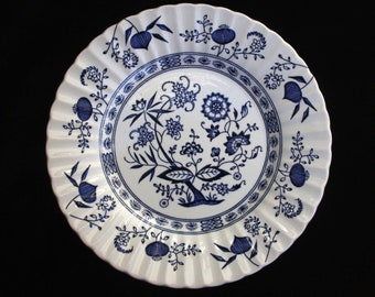 J & G Meakin | Blue Nordic | Salad Plate  | 9 inches | Replacement