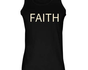 Faith Vest available in black, white, red and other colours