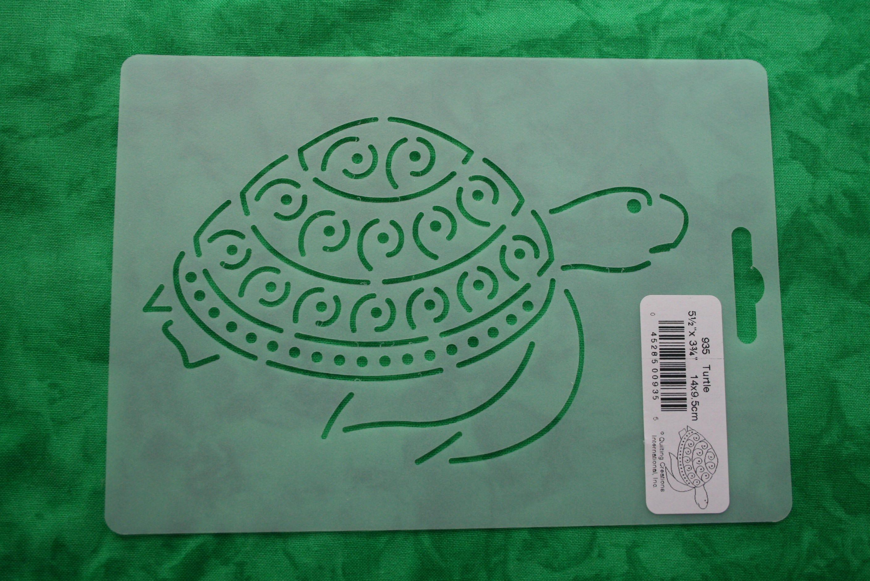 Schildkröte Motiv Quilt Schablone, Schildkröte, Quilten, Muster ...