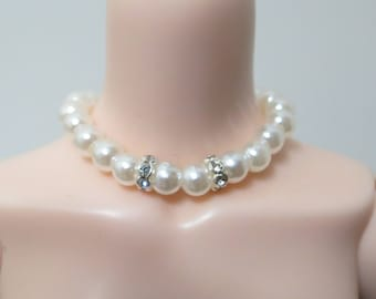 BJD elegant pearl necklace