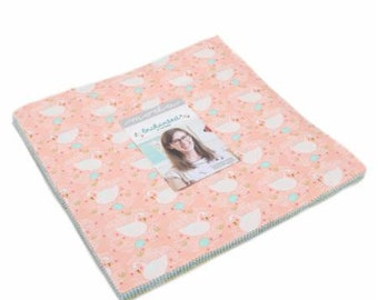 """PRE-ORDER - May Delivery - Enchanted by Gingiber for Moda - 42 piece 10"""" Layer Cake - 100% cotton quilt fabric"""