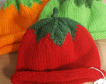 Fruit or veggie hats