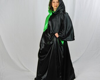 Wicked Little Cape and Skirt, Witch Costume, Halloween