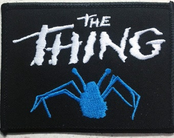 "The Thing ""spider"" patch John Carpenter 80's sci-fi horror"