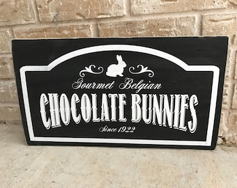 Chocolate Bunnies vinyl STENCIL ONLY