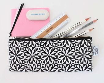 Minimalist pencil case with an original ANJSEY design