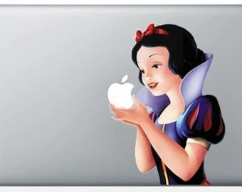 Snow White stickers for MacBook pro/air