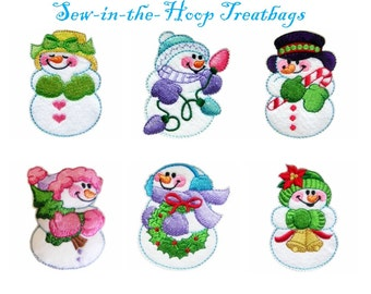 Snowman Collection- Machine Embroidery Designs