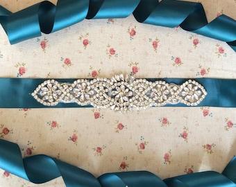 On sale!!! Bridal Sash,Wedding Dress Sash Belt, Rhinestone Sash, Rhinestone Bridal Bridesmaid Sash Belt, Wedding dress sash belt