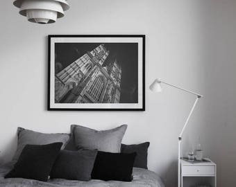 Westminster Abbey, London Photography, London Black And White, London Art, Wall Art, Wall Decor, British Decor, Black and White Art