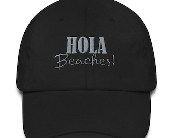 Spring Break Hat Hola Beaches Summer Beach hat