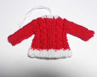 Knit Christmas Ornaments Pattern