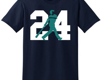Baseball T-Shirt - #24 Hall Of Fame Tee