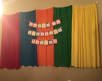 Primary Color Backdrop