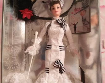 Barbie as Eliza Doolittle My Fair Lady. Audrey Hepburn