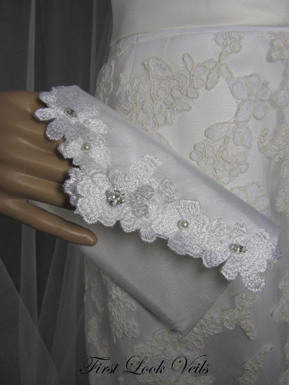 Clutch, Bridal Clutch, White Clutch, Pocket Book, Small Purse, Womens Purse, Swarovski Accents, Lace Purse, Bridal Accessory, Accessory