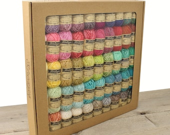 Colour Pack Stone Washed - River Washed -  Scheepjes Yarn Set -  Scheepjes Stone Washed all colors - Scheepjes River Washed all colors