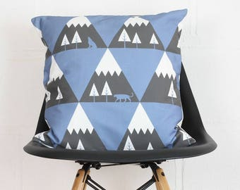 Mountain Range Cushion