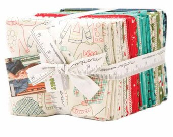SPRING SALE - Eat Drink and Be Ugly - Fat Quarter Bundle (38) - Sandy Gervais - Moda Fabric