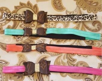 Louis Vuitton headbands