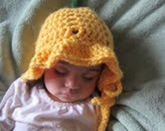 Daffodilly baby hat