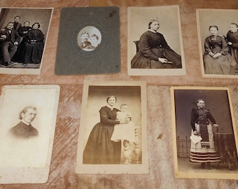 Vintage Photos (7) -Pictures Black and White - Antique Pictures - Photos Old Ladies