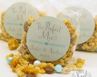 "custom wedding favor sticker. Color of Choice. Size 2"" Round. THE PERFECT MIX. Amelia collection personalized sticker"